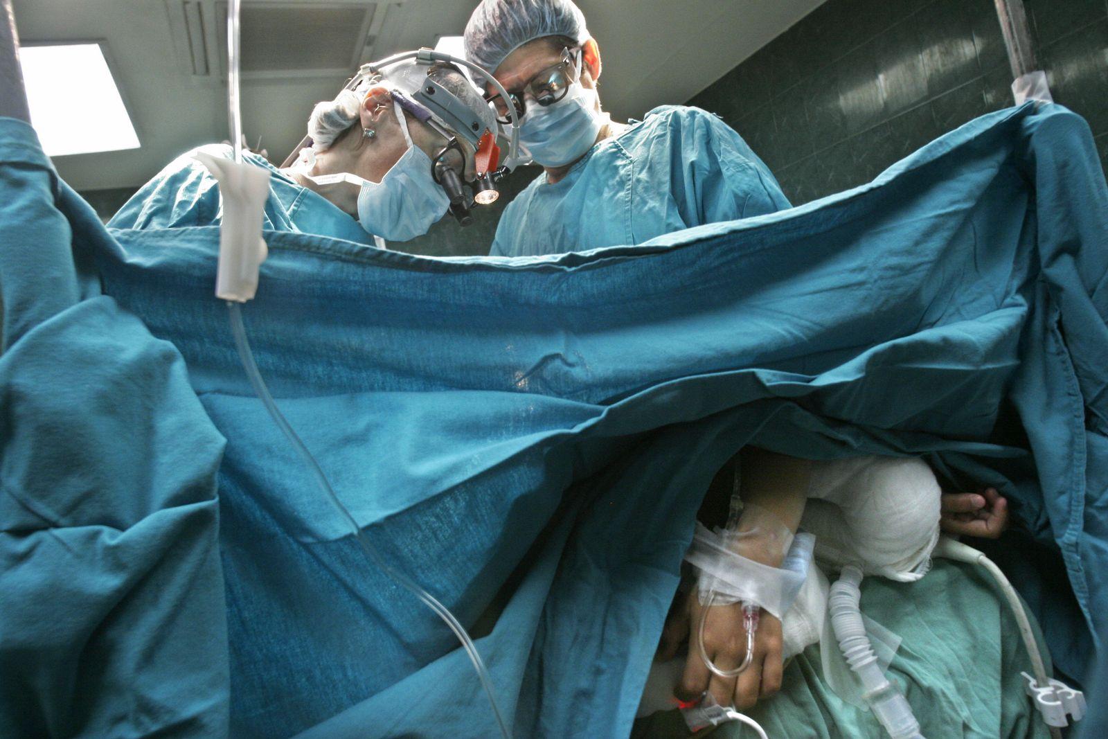 Nicaragua / Krankenhaus / Herz OP