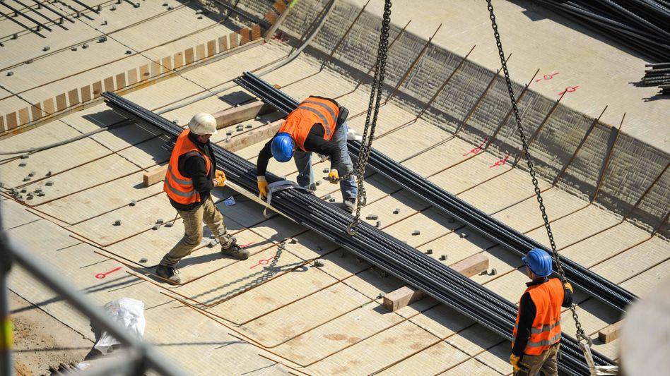 Bauarbeiten am Bahnhof Stuttgart 21 (Archivbild): Der Boom in der Branche ist vorbei