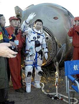 Chinesischer Astronaut: Bemannte Mondlandung bis 2020