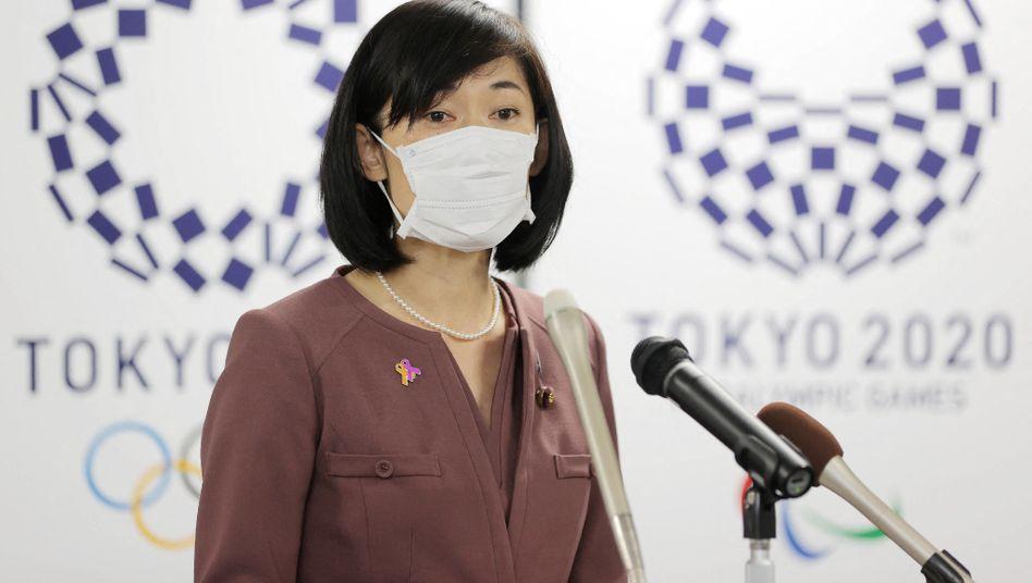 Japans Olympiaministerin Tamayo Marukawa