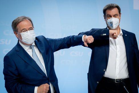 Unionspolitiker Laschet, Söder