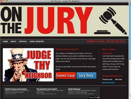 Screenshot onthejury.com