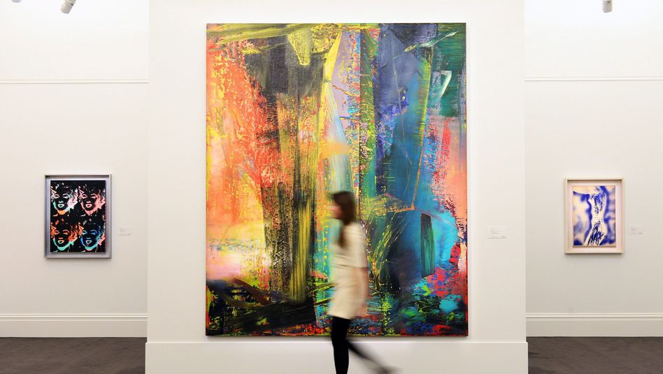 """""""Abstraktes Bild"""" von Gerhard Richter: Versteigert an anonymen Käufer"""