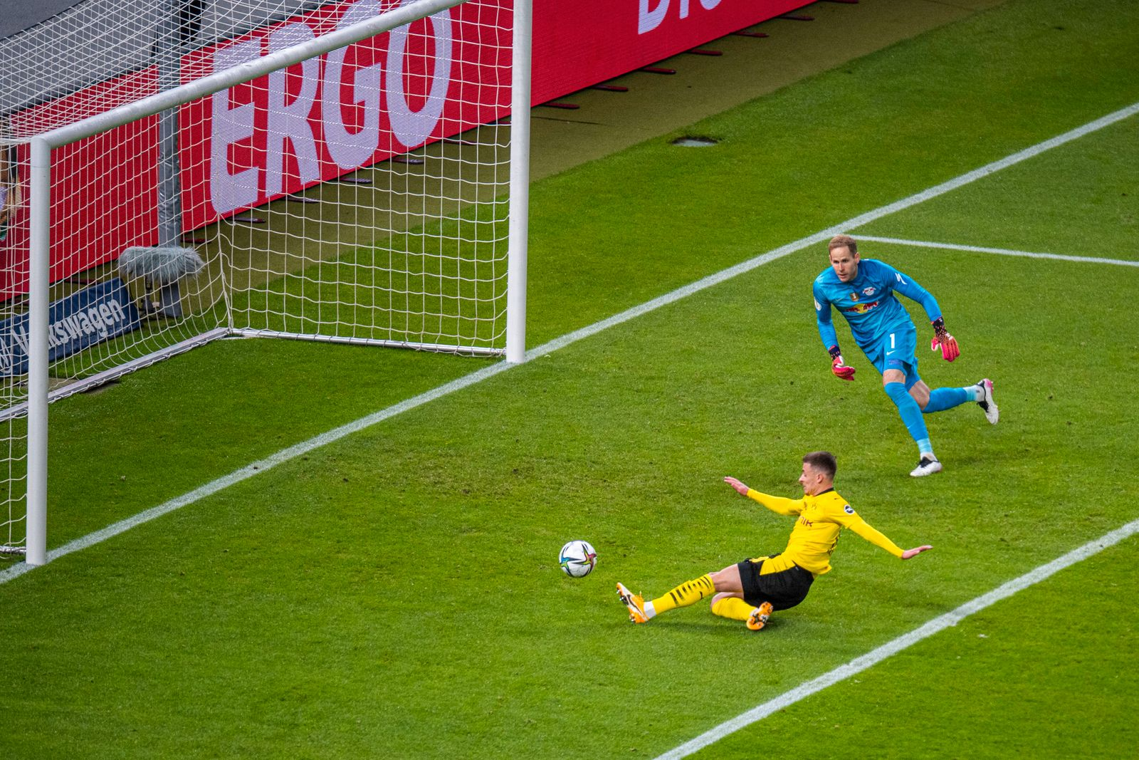 Fußball: DFB-Pokal, Saison 2020/2021, Endspiel, RB Leipzig - Borussia Dortmund am 13.05.2021 im Olympiastadion in Berlin