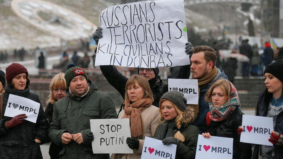 Angriff auf Mariupol: Steinmeier droht Russland mit neuen Sanktionen