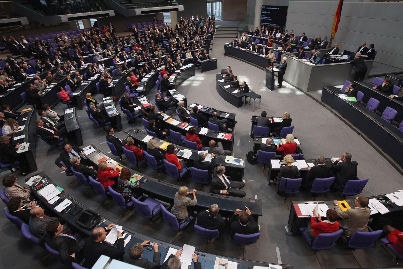 Bundestag/ Euro-Hilfen