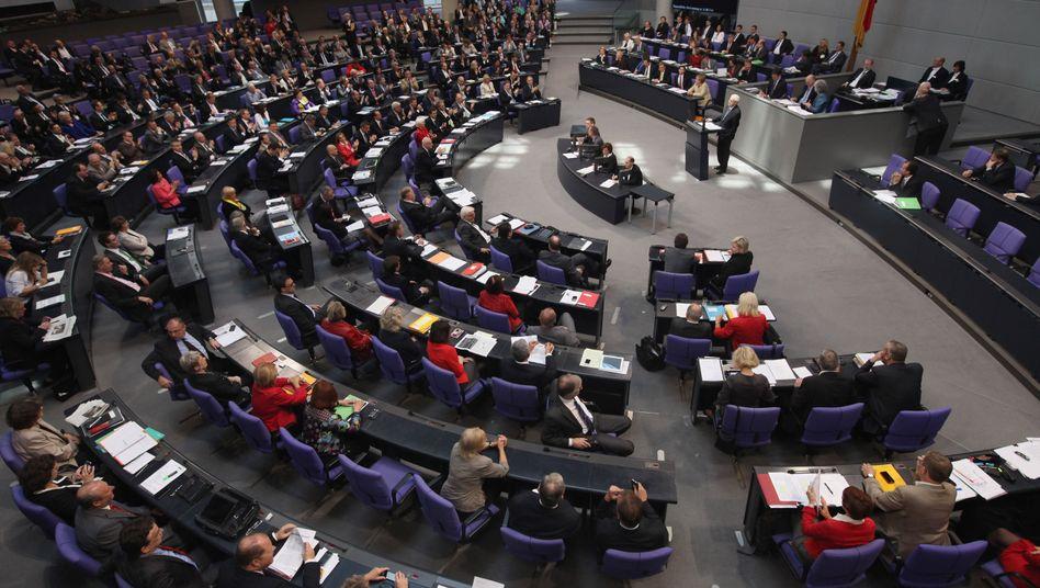 Euro-Debatte im Bundestag: Eine der wichtigsten Sitzungen des Jahres