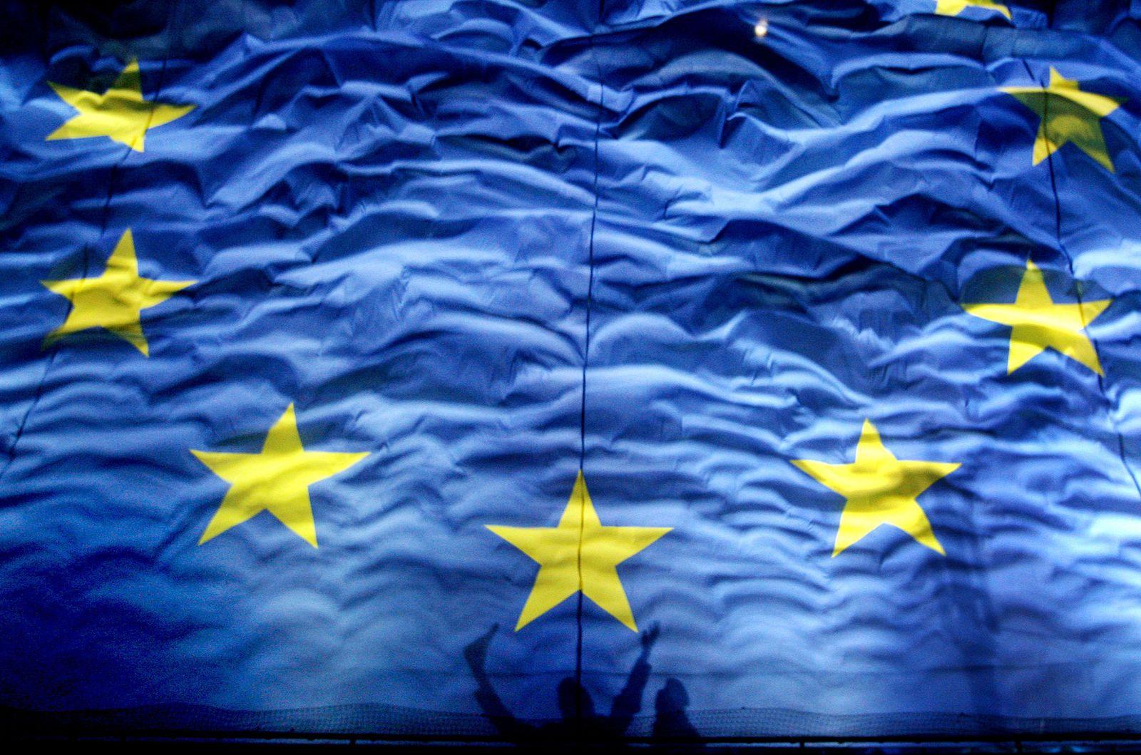 EU/ Flagge/ Fahne/ Symbolbild