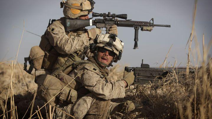 """Operation """"Muschtarak"""": Nato-Truppen auf dem Vormarsch"""