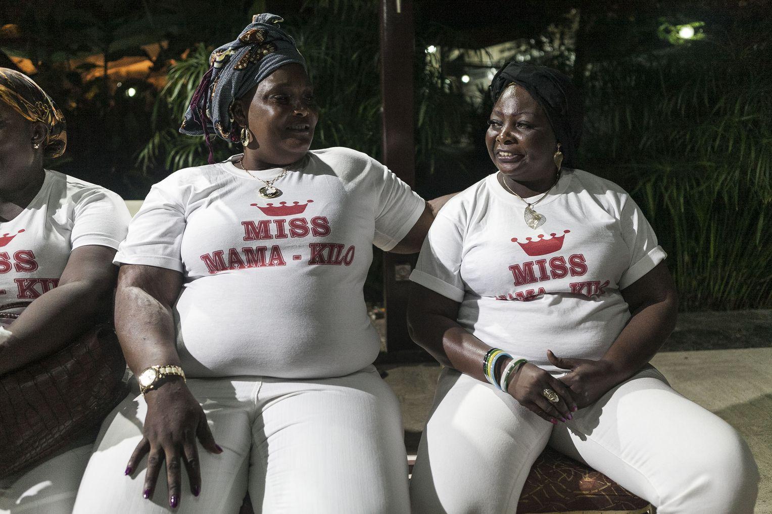 Republik Kongo: Schönheitswettbewerb für üppige Frauen - DER SPIEGEL