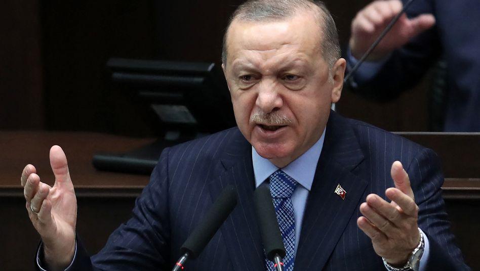 Seine Einmischung in die Währungspolitik ist die Ursache für die Lira-Turbulenzen: der türkische Präsident Recep Tayyip Erdoğan