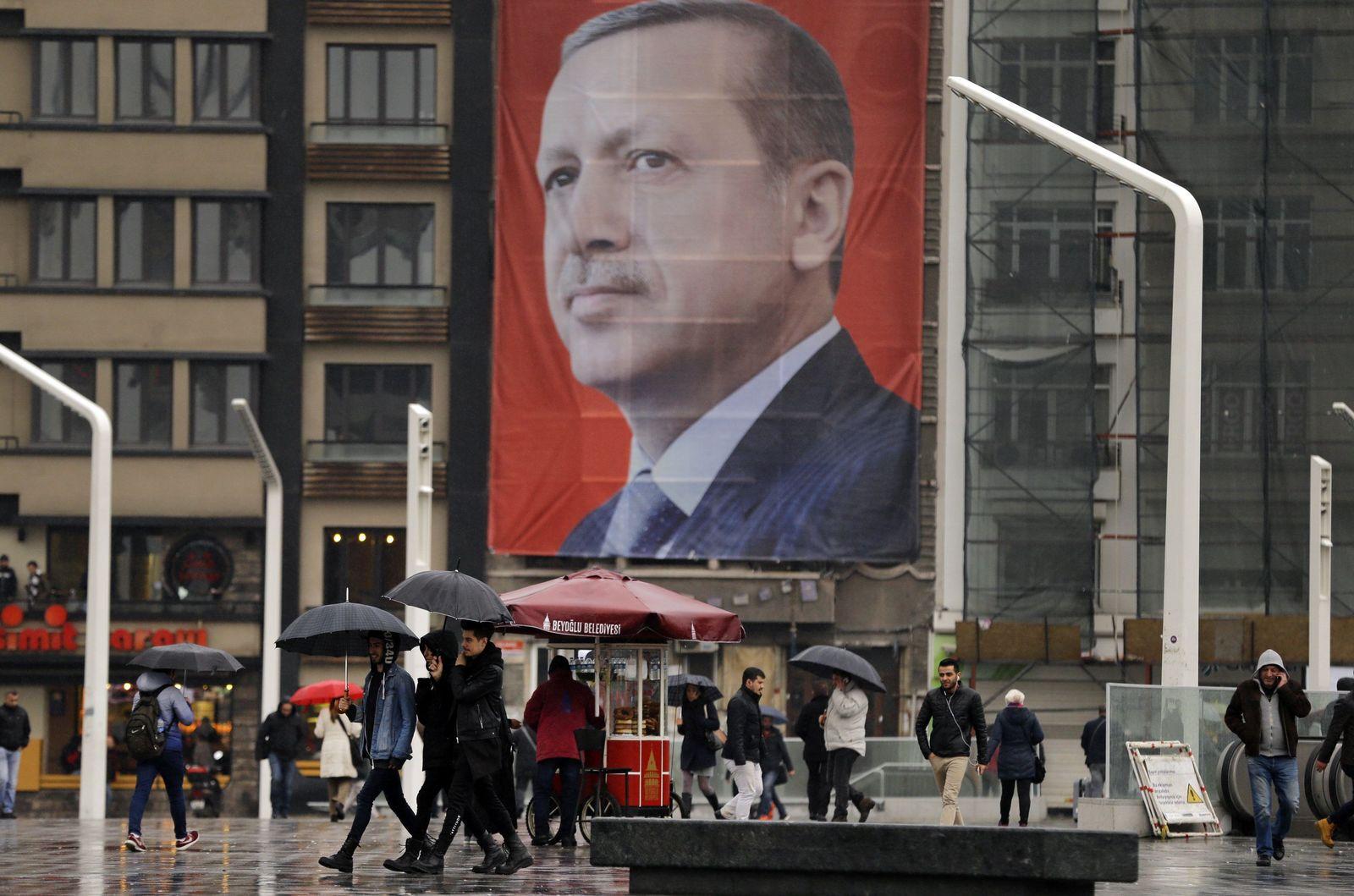 Istabul - Erdogan-Plakat