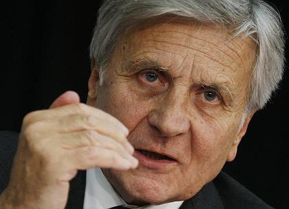 """EZB-Präsident Trichet: Sarkozy sieht """"ein kleines Problem"""""""
