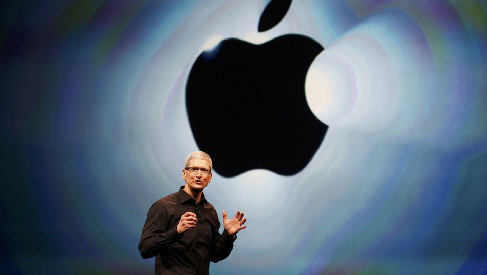"""Apple-Chef Cook: """"Apple zahlt alle nötigen Steuern"""""""