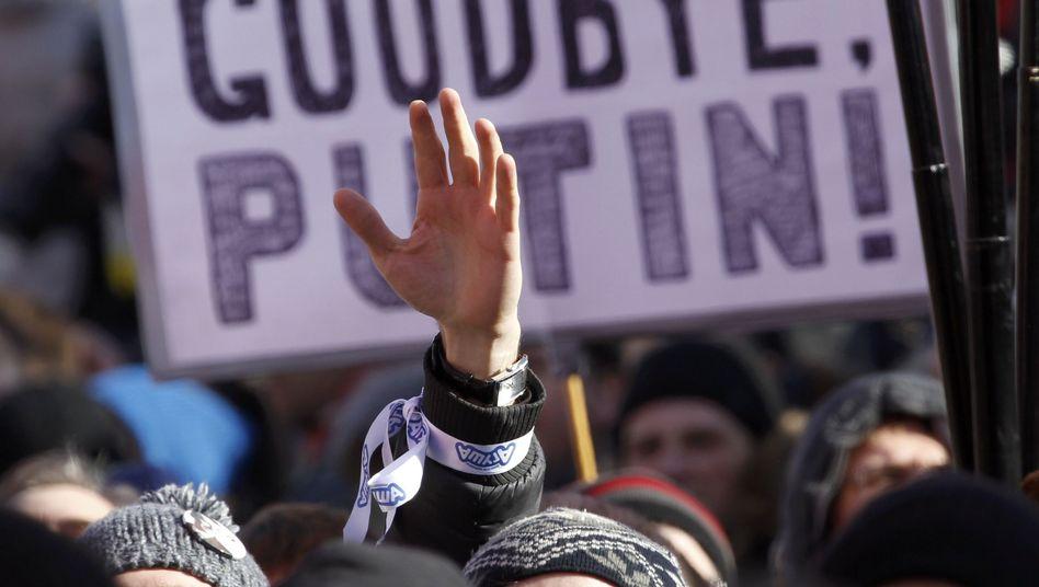 Anti-Putin-Demo in Moskau: Versammlungsrecht wird drastisch eingeschränkt