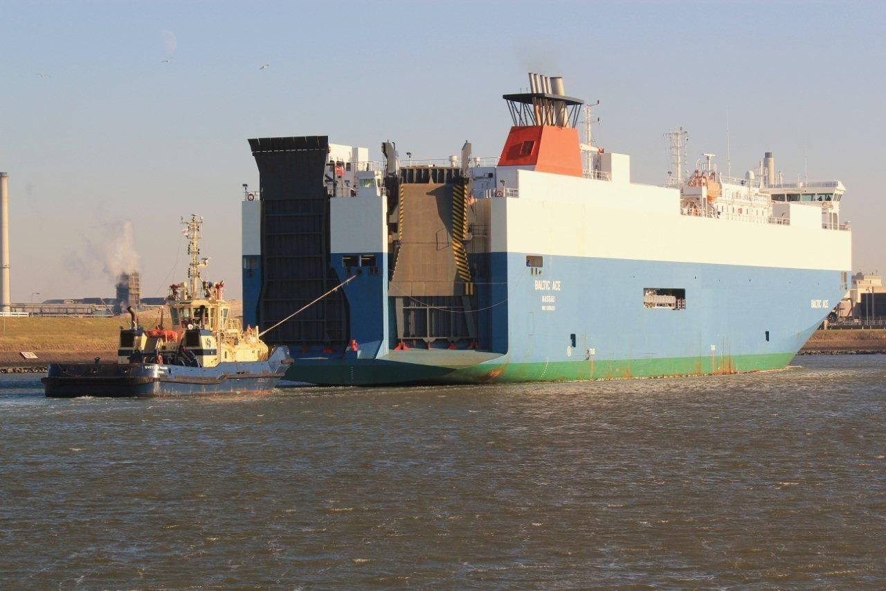NETHERLANDS-NORTH SEA-SHIP-COLLISION-ACCIDENT