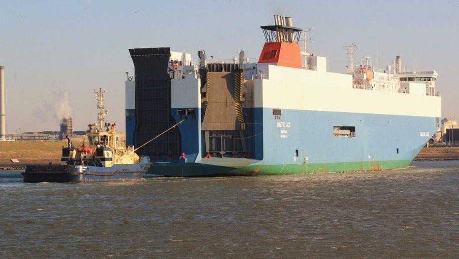 """Frachter """"Baltic Ace"""" (Archivbild): Havarie in der Nordsee vor der niederländischen Küste"""