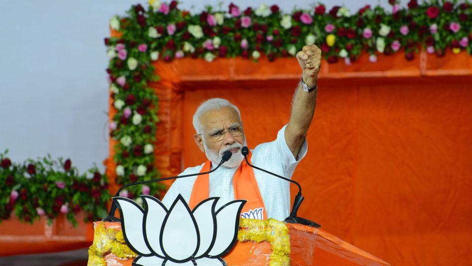 Will Indien noch viele Jahre lang politisch führen: Premier Narendra Modi