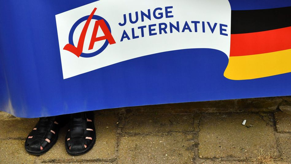 Logo der Jungen Alternative