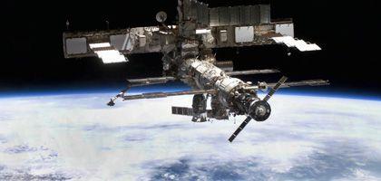 Gefahr für die ISS: Nach der Kollision eines russischen mit einem US-Satelliten treiben Hunderte Trümmerteile in der Erdumlaufbahn