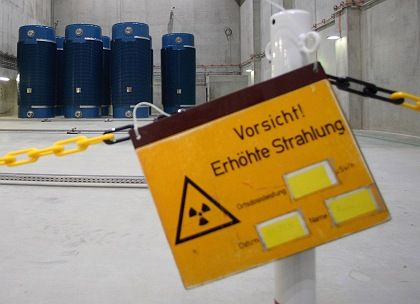 """Caution -- Increased Radioactivity"": The German government is phasing out nuclear power, but it is still investing in research on nuclear safety."