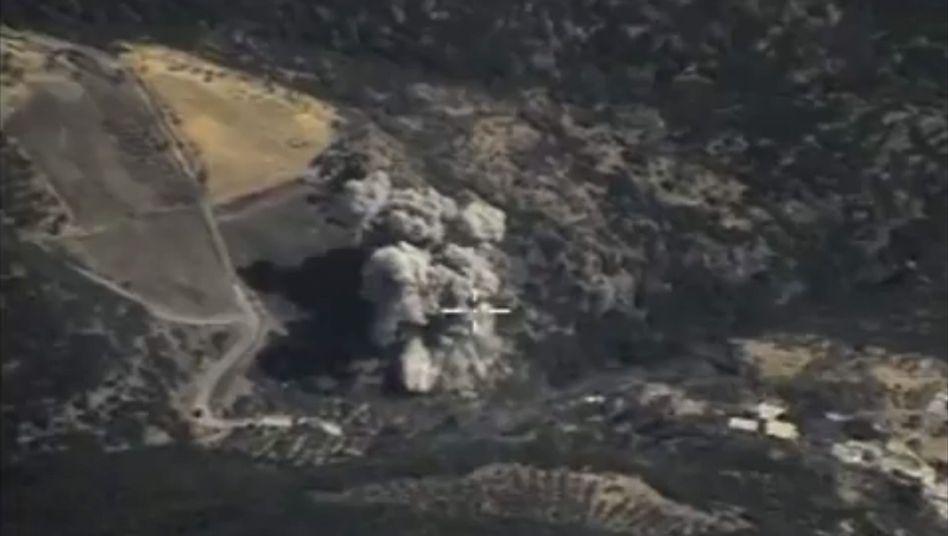 """Russischer Luftangriff in Syrien: """"Kräfte des Himmels"""""""