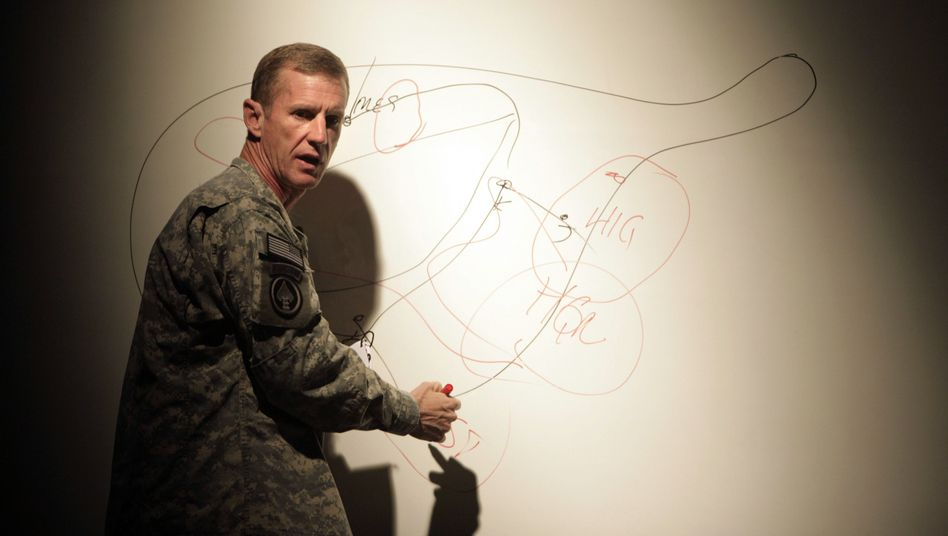 General Stanley McChrystal, 55, is the top US and NATO commander in Afghanistan.