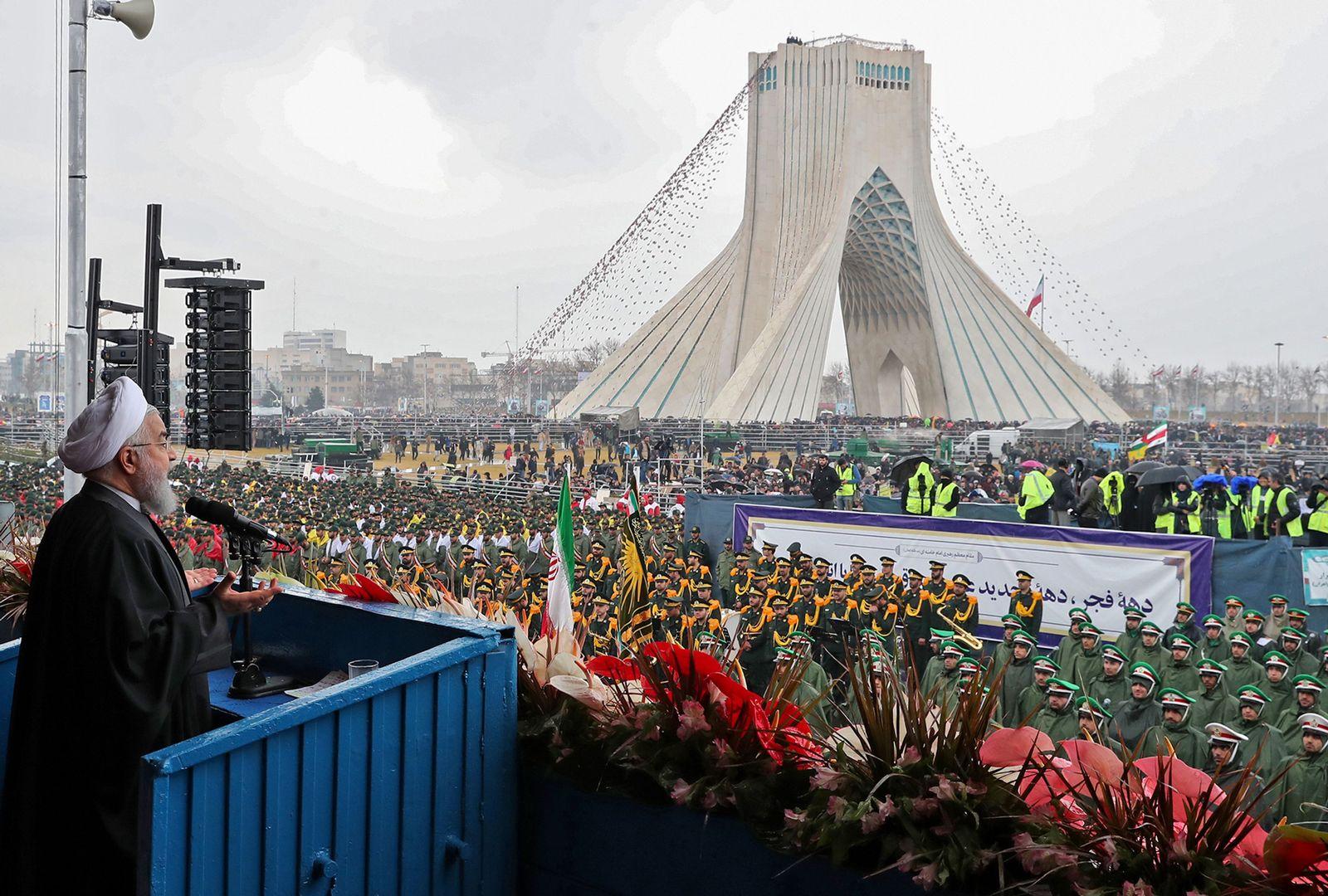 Hassan Rohani/ Freedom square/ Teheran