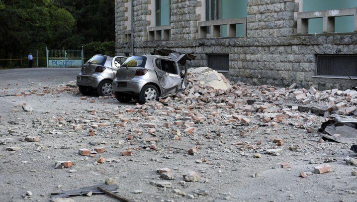 Albanien: Um kurz nach vier bebte die Erde