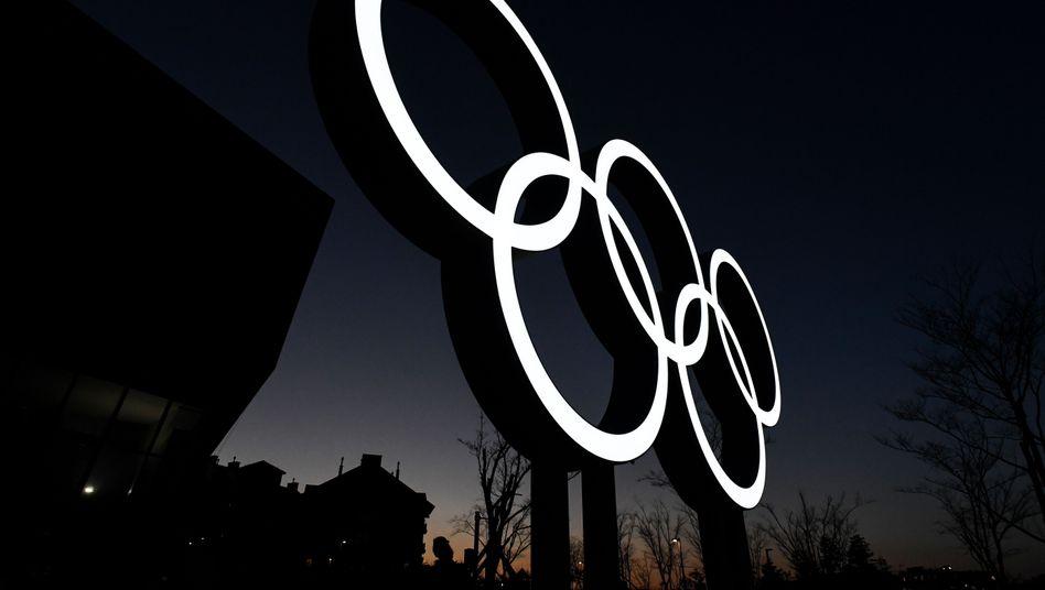 Olympische Ringe in Pyeongchang