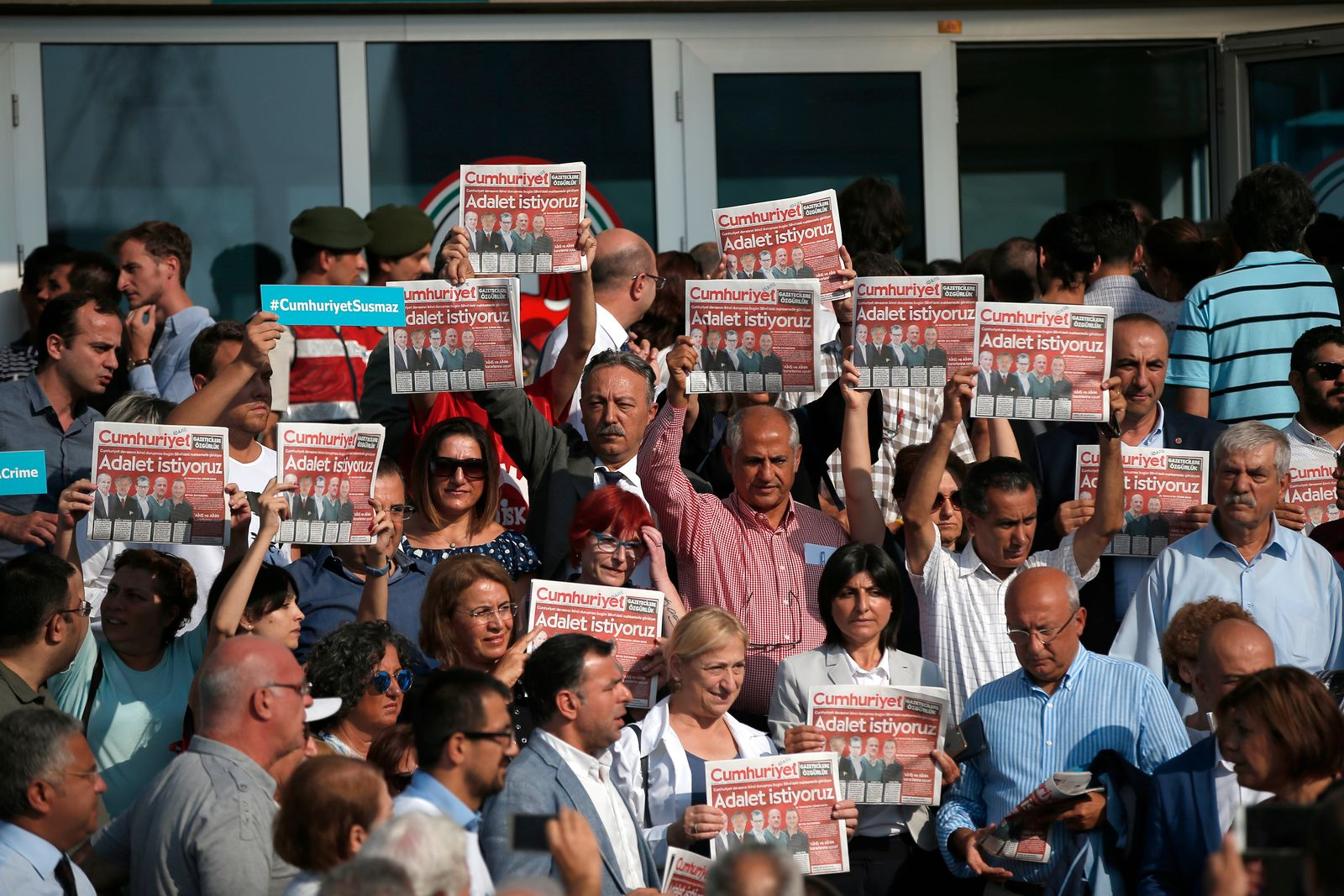 Turkey Journalists Trial