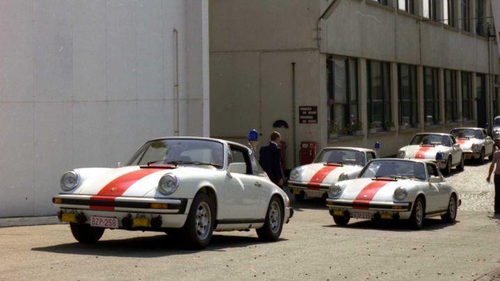 Im Sportwagen auf Streife: Polizei-Porsche und Porsche-Jäger