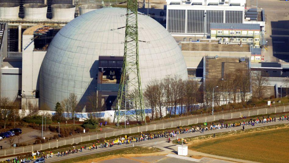 Demo vor dem AKW Neckarwestheim: Wende in der Geschichte der modernen Technik
