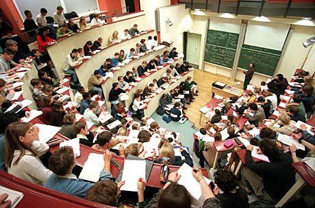 Vorlesung: Schlechtes Lernklima für die Studentenmassen