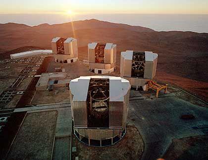 Eso-Teleskope auf dem Paranal in Chile: Erstes Foto eines Exoplaneten?