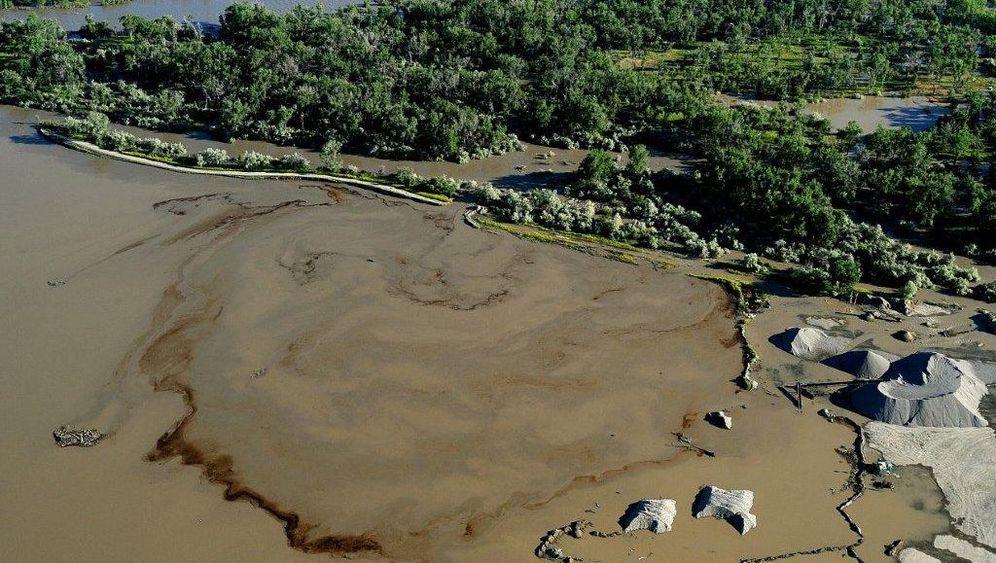 Umweltdesaster: Ölteppich treibt auf dem Yellowstone