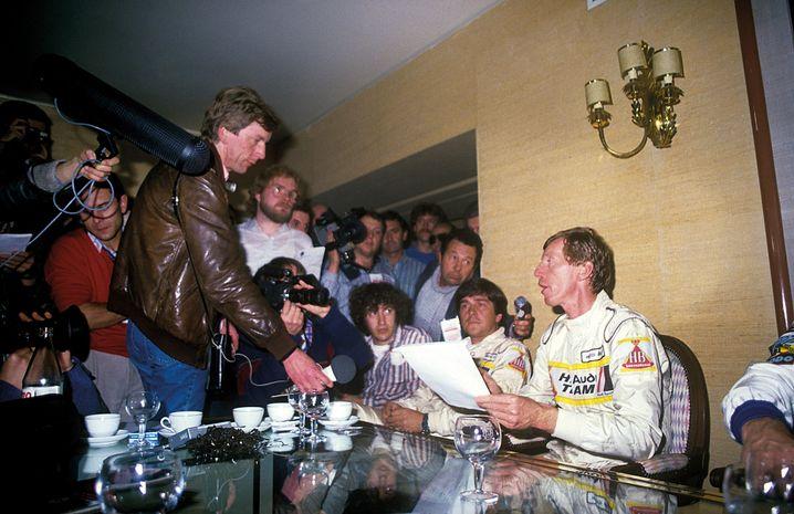 Ende Gelände: Röhrl verkündet nach dem Unfall in Portugal 1986 den Boykott der Fahrer