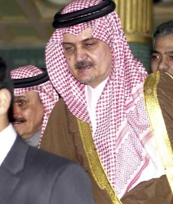 Außenminister Prinz Saud al-Faisal: In den höchsten Zirkeln kursiert ein Papier