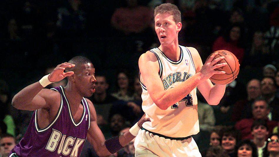 Ex-Basketballer Bradley im Jahr 1997