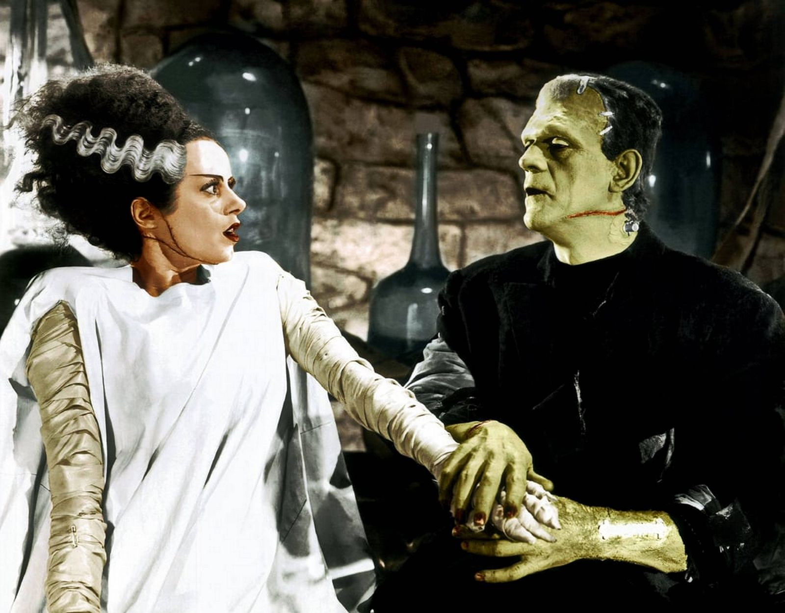 Elsa Lanchester Bride of Frankenstein is a 1935 American science fiction horror film the first sequ