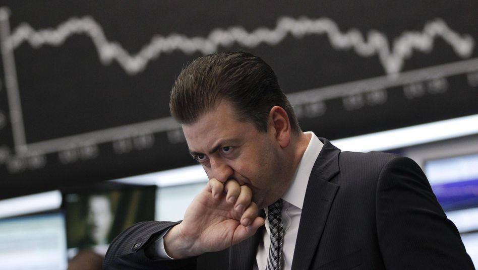 Frankfurter Börse am Donnerstag: Ein schwarzer Tag