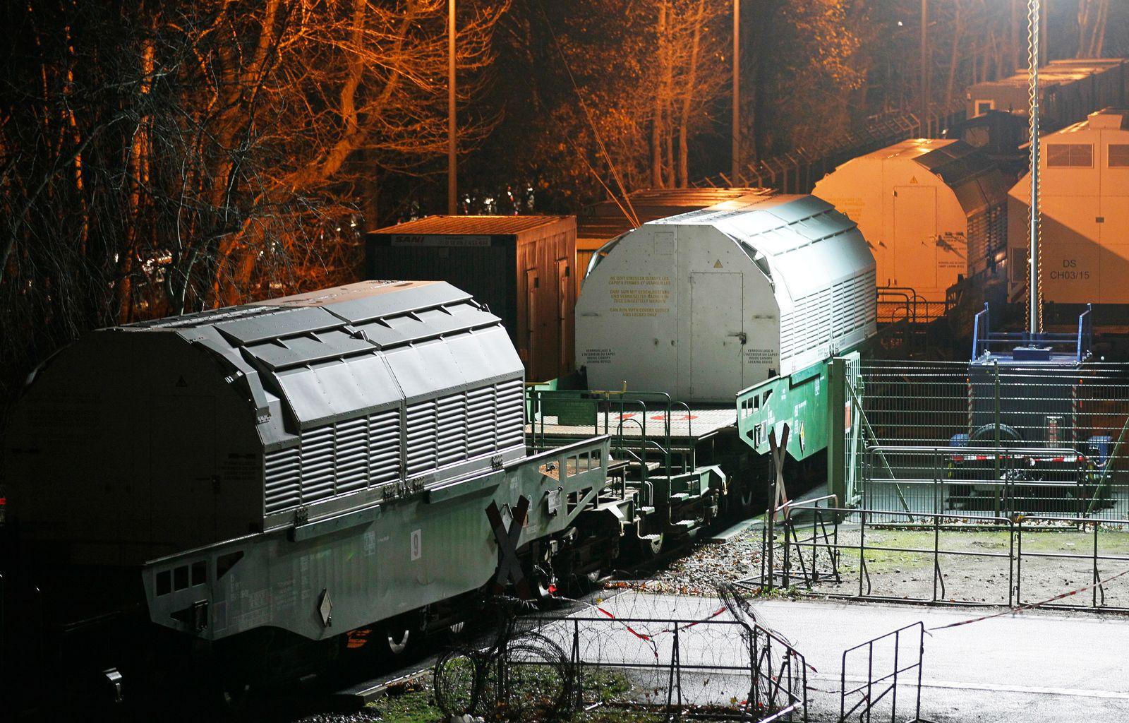 Castor-Transport / Atommüll / Atomausstieg