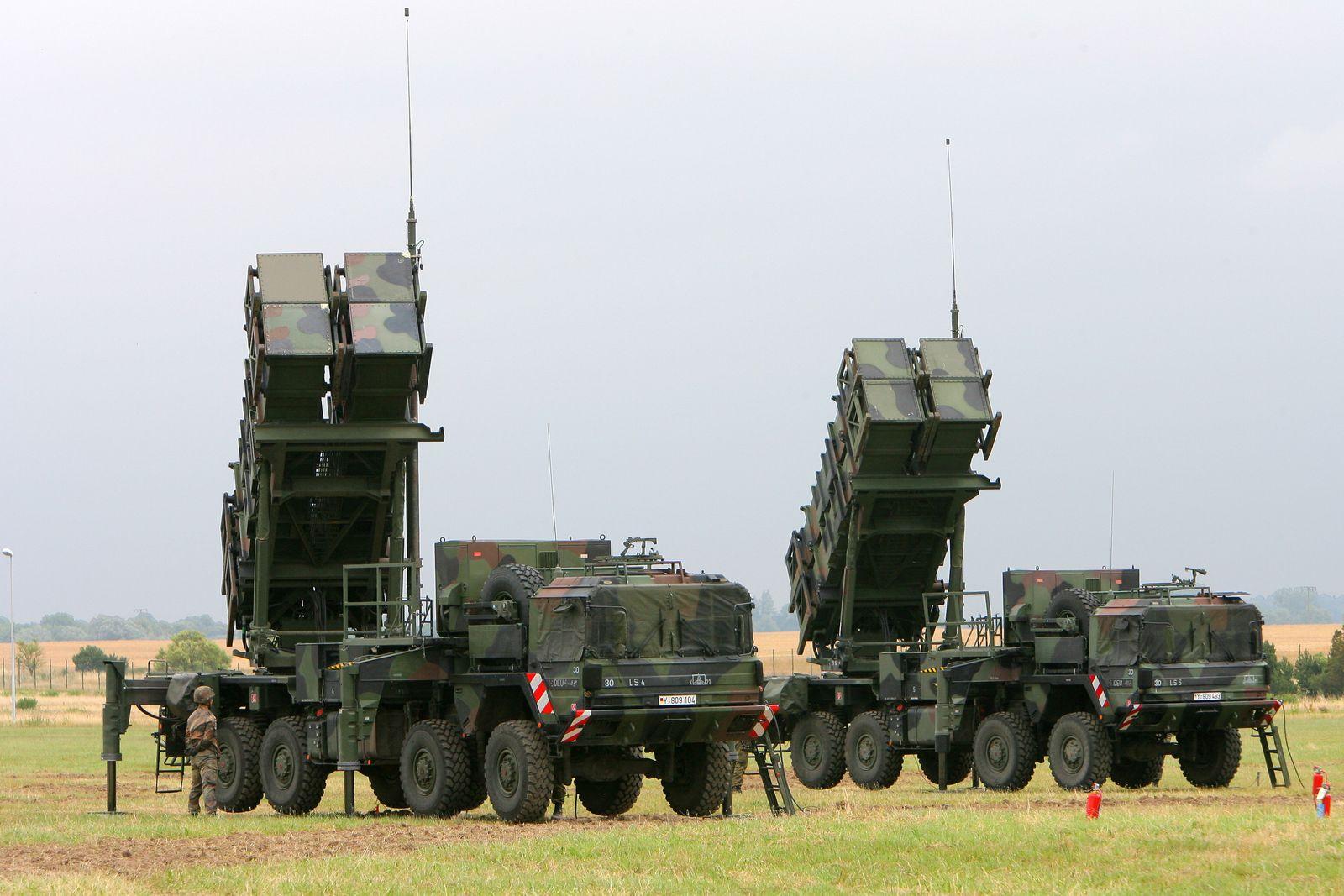 Raketen-Abwehrsystem Patriot