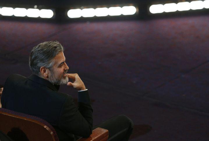 """""""Argo""""-Produzent George Clooney: Den Oscar für den besten Film teilte er sich..."""