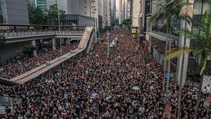 Hongkong: Aufstand im Sonderverwaltungsgebiet