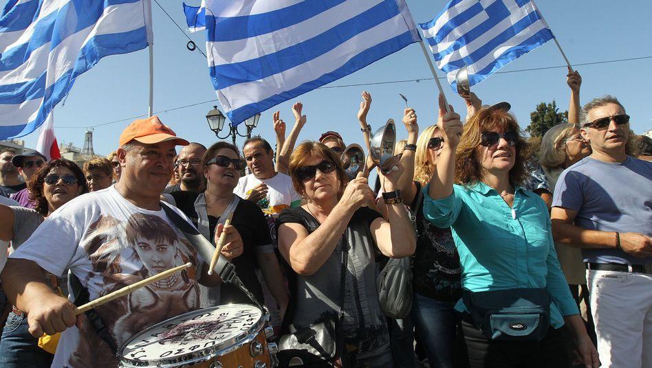 Demonstration gegen die Sparpolitik: Die Kürzungen werden wehtun, so oder so