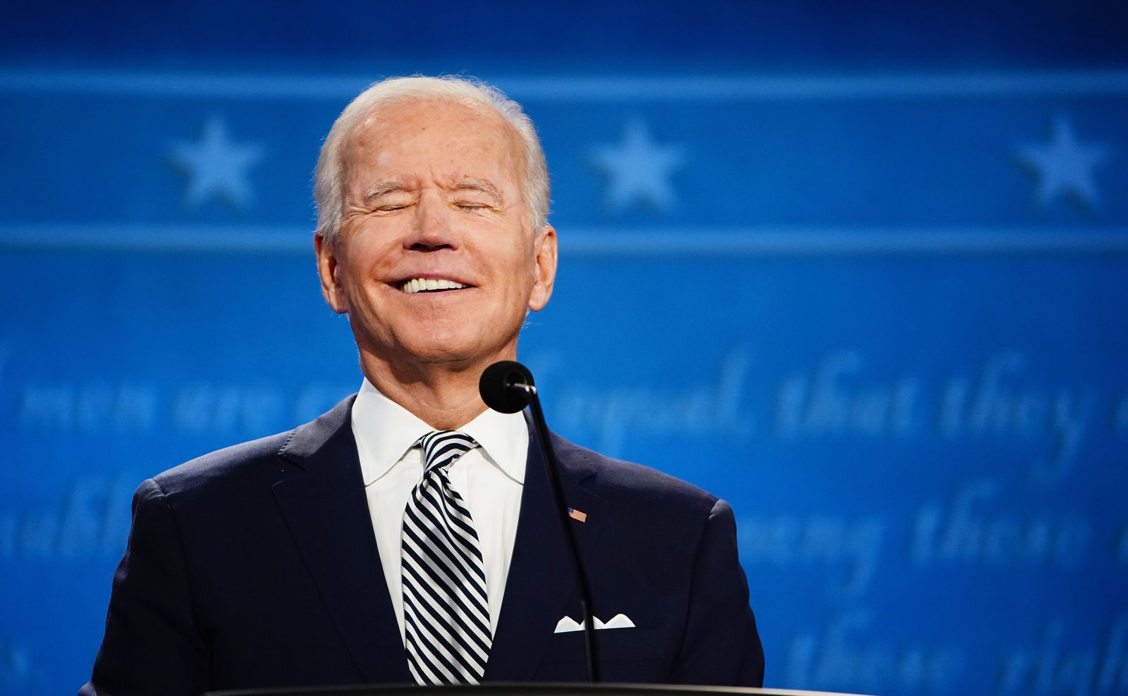 First 2020 presidential election debate between US President Donald J. Trump and Democratic presidential candidate Joe Biden, Cleveland, USA - 29 Sep 2020