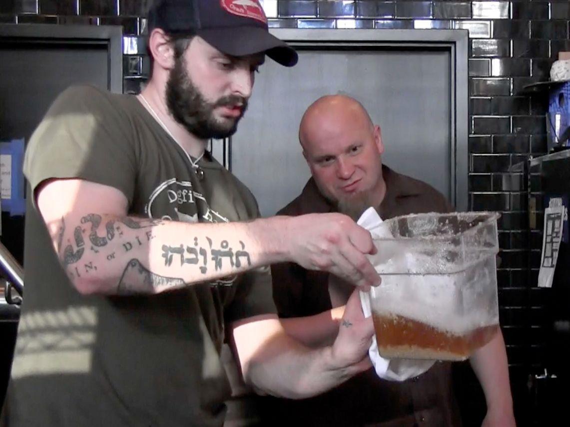 AUSGEGRABEN Dogfish / Etruskisches Bier / WISSENSCHAFT
