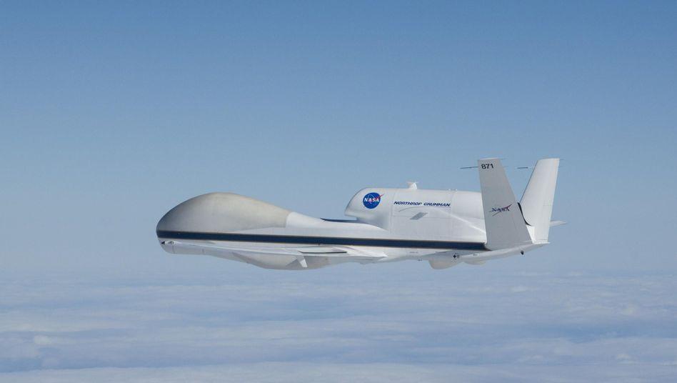 Global Hawk: Manipulierten Flugplan in Forschungsdrohne eingeschleust?