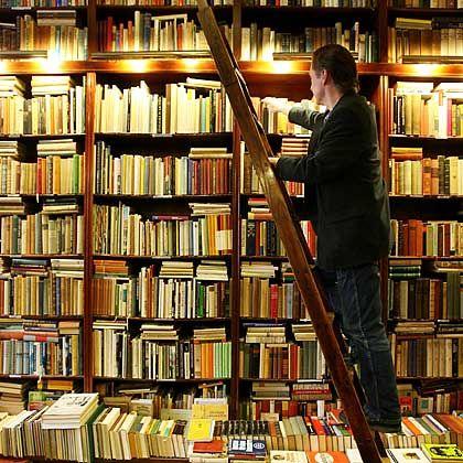 Antiquarische Buchbestände: Papierfraß kann nur durch komplizierte chemische Verfahren gestoppt werden